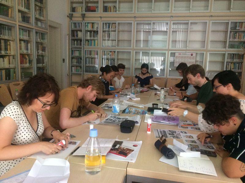 Photo: Facebook de l'Ecole d'été d'études slaves