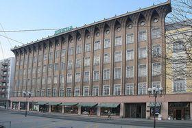 Le grand magasin Breda à Opava, photo: Prazak, CC BY-SA 3.0 Unported