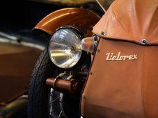 L'exposition des moto-voitures tchèques Velorex, photo: ČTK