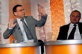 Lubomír Zaorálek (vlevo), foto: ČTK
