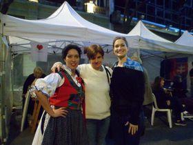 Radka Navarová (vpravo) vArgentině, foto: archiv Magistrátu Buenos Aires