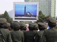 L'image distribuée par le gouvernement de la Corée du Nord montre le prétendu sixième test nucléaire, photo: ČTK