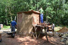 Construction de la chapelle Killer, photo: L'association des passionnés du patrimoine