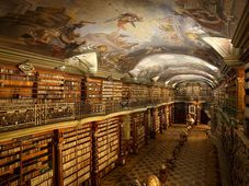 Barokní knihovna Klementinum, foto: Jan Kolman