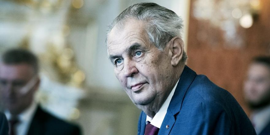 Miloš Zeman, photo: Michaela Danelová / Czech Radio