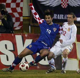 La selección checa de fútbol cayó contra Croacia por 4-2, foto: ČTK