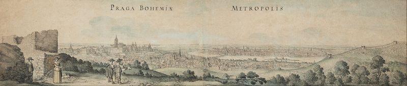 Praha 1636, Václav Hollar, фото: открытый источник