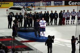 Чемпионат мира по хоккею 2012 года, сборная Словакии выиграла серебряную медаль, фото: Алексей Хернядев CC BY-SA 3.0