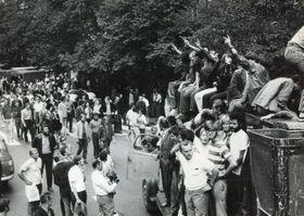 Srpen 1969 vPraze, foto: Muzeum policie ČR