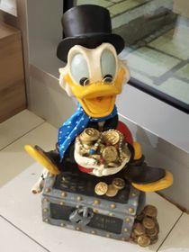 Dagobert Duck im Erika-Fuchs-Haus (Foto: Maria Hammerich-Maier)