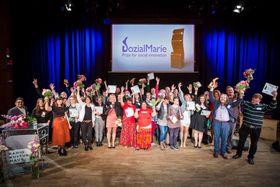 Foto: Offizielle Facebook-Seite des Wettbewerbs SozialMarie