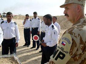 Tschechische Militärpolizisten in Irak (Foto: CTK)