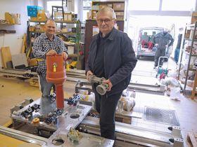 Jiří Suchomel (vpravo), foto: archiv Technické univerzity vLiberci