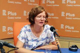Tereza Pelechová, photo: Věra Luptáková, ČRo