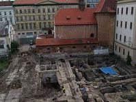 The excavations on Prague's Namesti Republiky, photo: www.namrepubliky.cz