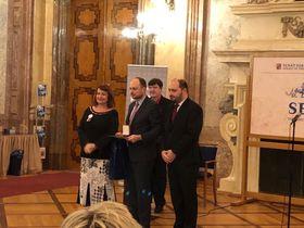 Церемония награждения в Сенате Чешской Республики, фото: Facebook Владимира Кара-Мурзы