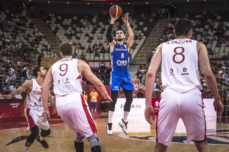 Матч Чехия – Турция на ЧМ по баскетболу 2019, фото: ČTK/PR/ČBF/Václav Mudra