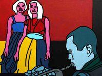 Josef Mžyk, 'Hommage à Miles Davis', photo: Galerie La Femme