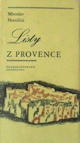 'Lettres de Provence', photo: Československý spisovatel