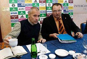 Zdeněk Haník (vlevo) aAntonín Lébl, foto: ČTK