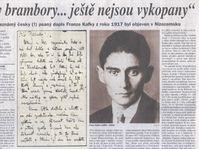 Статья в газете «LIDOVE NOVINY»