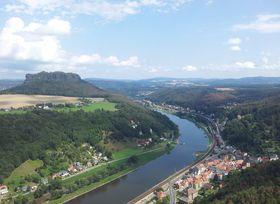Lilienstein in der Sächsischen Schweiz (Foto: Klára Stejskalová)