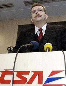 Prezident apředseda představenstva ČSA Jaroslav Tvrdík, foto: ČTK