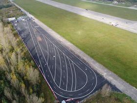 Testovací polygon včásti milovického letiště, foto: archiv společnosti Valeo