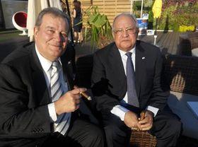 Hendrik Kelner y Alejandro César Augusto Gonzáles Pons, foto: Dominika Bernáthová
