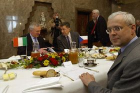 Breakfast with prime minister, photo: CTK