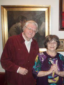Йозеф Сук с супругой, фото: Levapk, CC0
