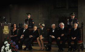 Insgesamt zeichnete der Staatspräsident in diesem Jahr 22 Personen aus (Foto: ČTK)