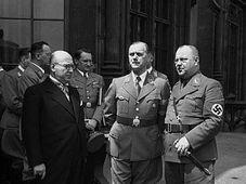 Otakar Klapka (links) und Josef Pfitzner (rechts), foto: CTK