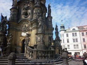 Sloup Nejsvětější Trojice, Olomouc, foto: Zdeňka Kuchyňová