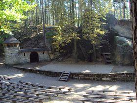 El teatro forestal de Sloup, foto: Zákupák / free domain