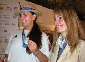 Ленка Гыкова и Катержина Куркова (Фото: ЧТК)