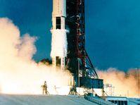 La salida de Apollo 11, foto: www.hq.nasa.gov