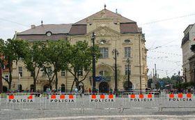 Edificio 'Reduta' en la capital eslovaca Bratislava, donde se celebra la Asamblea Parlamentaria de la OTAN (Foto: CTK)