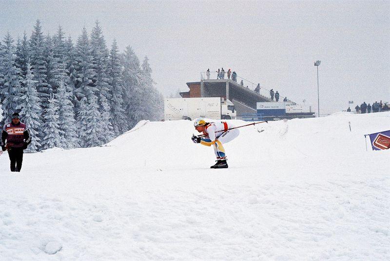 Světový pohár vlyžování vNovém Městě na Moravě, foto: Oskar Karlin, Flickr, CC BY-SA 2.0