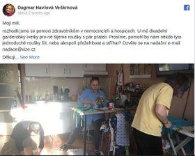 Photo: Facebook de Dagmar Havlová Veškrnová
