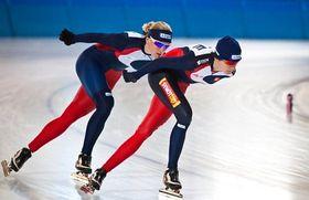 Karolína Erbanová et Martina Sáblíková, photo: CTK