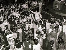 Tony Prince on stage, photo: archive of Tony Prince