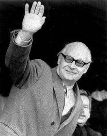 Alexander Dubček, foto: ČTK