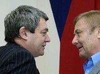 Vojtěch Filip a Miroslav Grebeníček, foto: ČTK