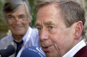 Вацлав Гавел на фестивале (Фото: ЧТК)