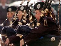 The Grampian Police Pipe Band, photo: CTK