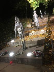 Памятник жертвам коммунизма в Праге, фото: Катерина Айзпурвит