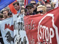 1er mai dans le centre de Brno, photo: ČTK