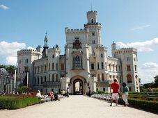 El castillo de Hluboká, foto: Barbora Němcová