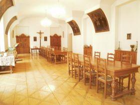 Réfectoire du couvent de Břevnov, photo: Jaroslava Gregorová